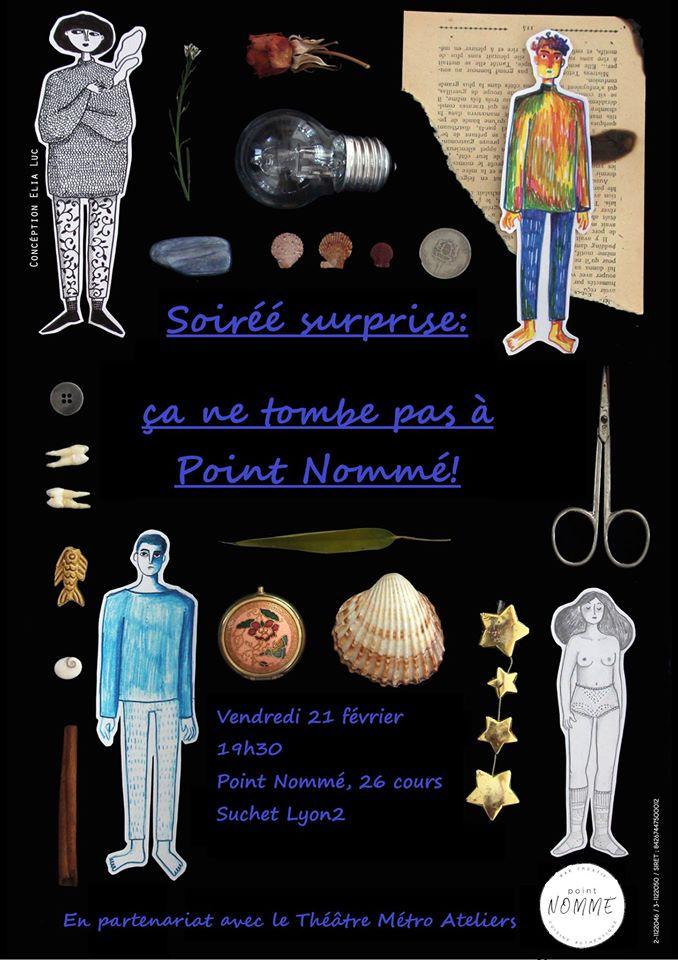 Soiré surprise Point Nommé/Th Métro ateliers