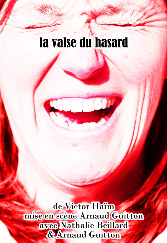 La valse du hasard.Représentations au TH Métro Ateliers Lyon les10 et 11 décembre 2021.